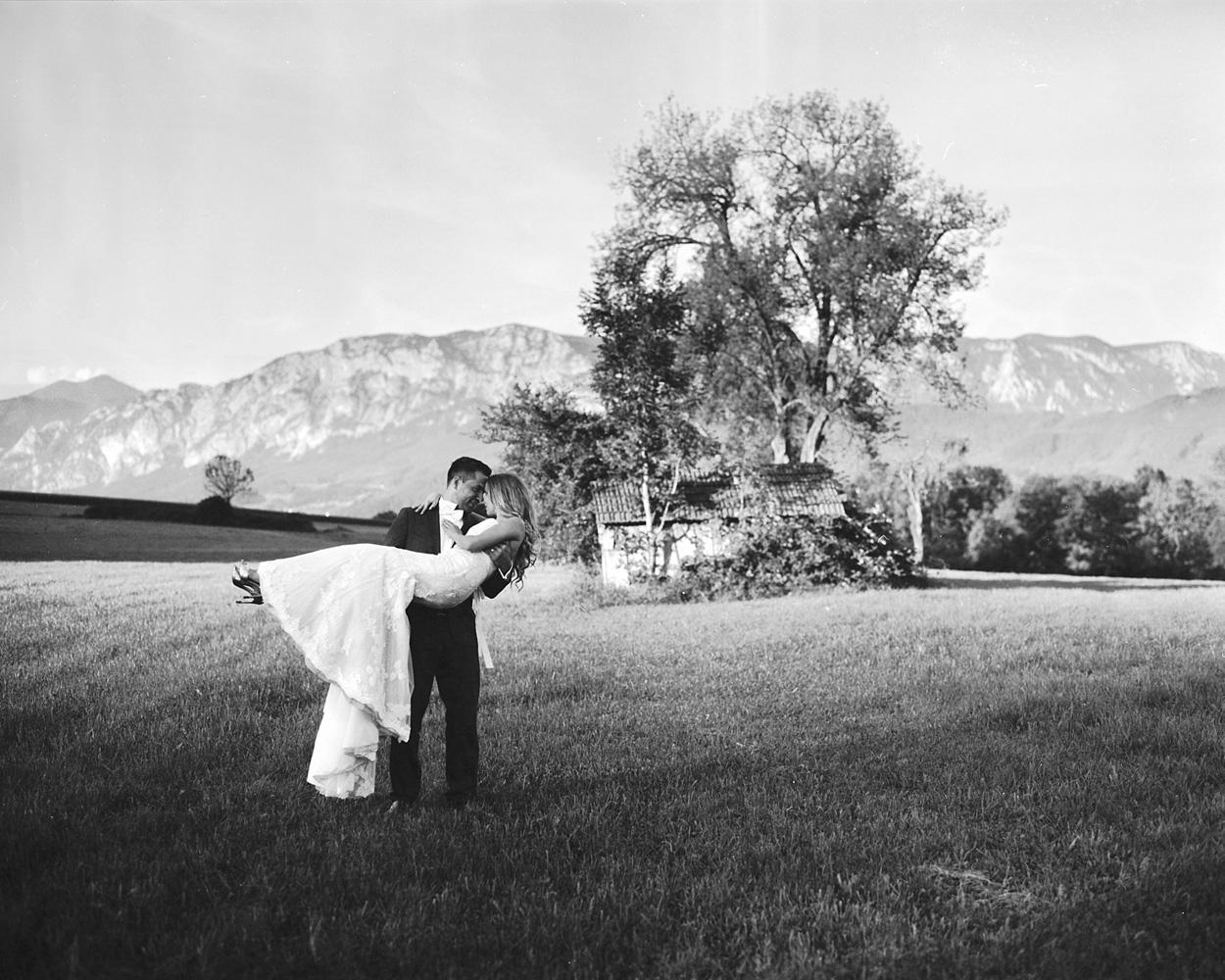 Analóg esküvői fotók